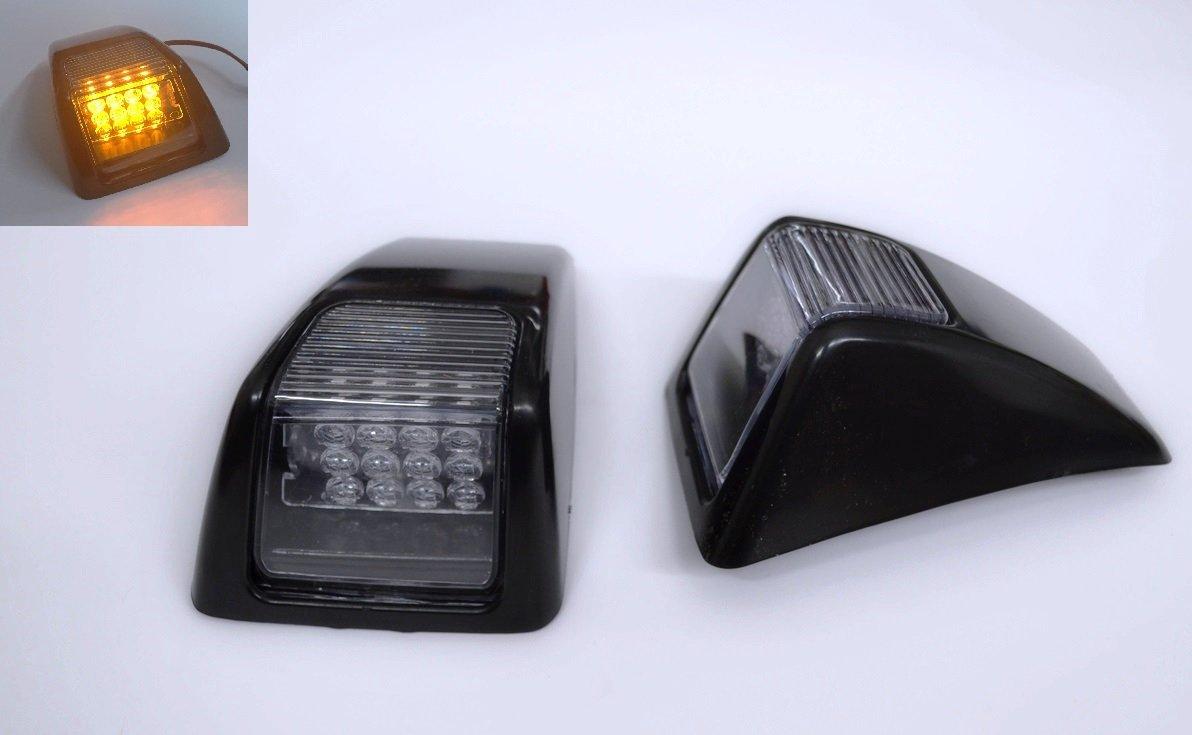 2 x LED izquierda y derecha delantera de control Leuchten E4 markiert para FH 16 III 2008-12 OEM 82114500 82114506