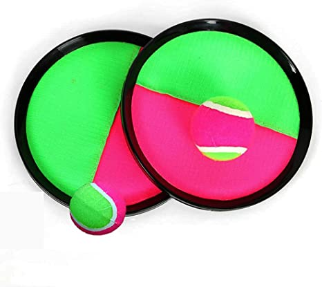 TOPIK Toss and Catch - Juego de pelotas con palas de disco ...