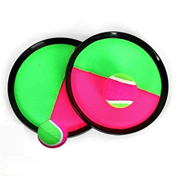 TOPIK Toss and Catch - Juego de pelotas con palas de disco, juguete de pádel de pádel ...