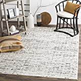 Safavieh Adirondack Collection ADR117B Ivory and Silver Contemporary Area Rug (8′ x 10′)