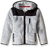 Splendid Little Boys' Toddler Faux Fur Jacket, Grey Heather, 2T