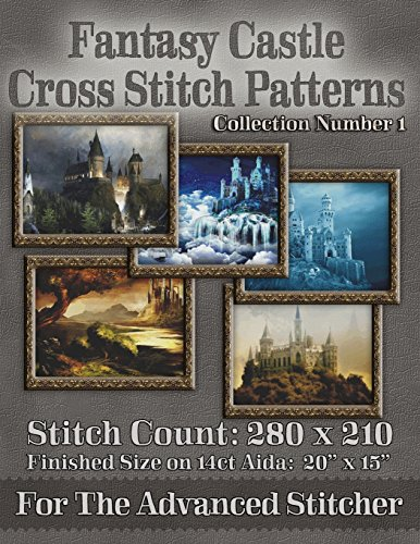 Fantasy Castle Cross Stitch Patterns: Collection Number 1 [Warrington, Tracy] (Tapa Blanda)