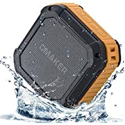 [Best Outdoor&Shower Bluetooth Speaker Ever] Omaker M4 Portable Bluetooth 4.0 Speaker with 12 Hour Playtime for Outdoors/Shower