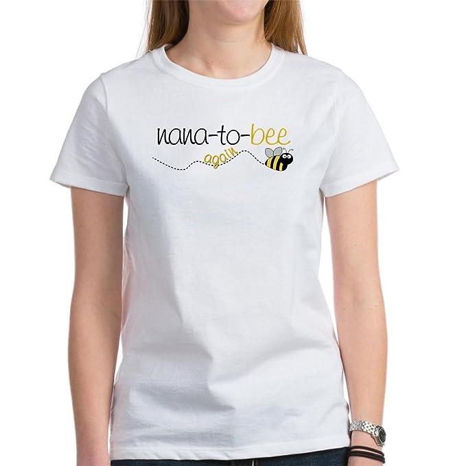 64e095528a5493 Amazon.com  CafePress - nana to bee again t-shirt Women s T-Shirt ...