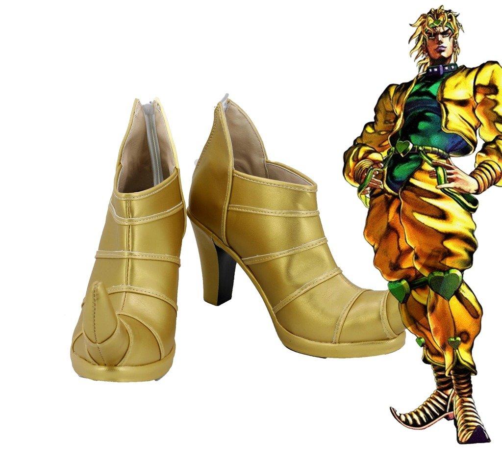 JOJO'S BIZARRE ADVENTURE 3 Dio Brando Cosplay Shoes High Heel Custom Made by Telacos