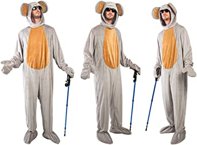 Amazon Com Three Blind Mice Group Costume Set Grey Clothing