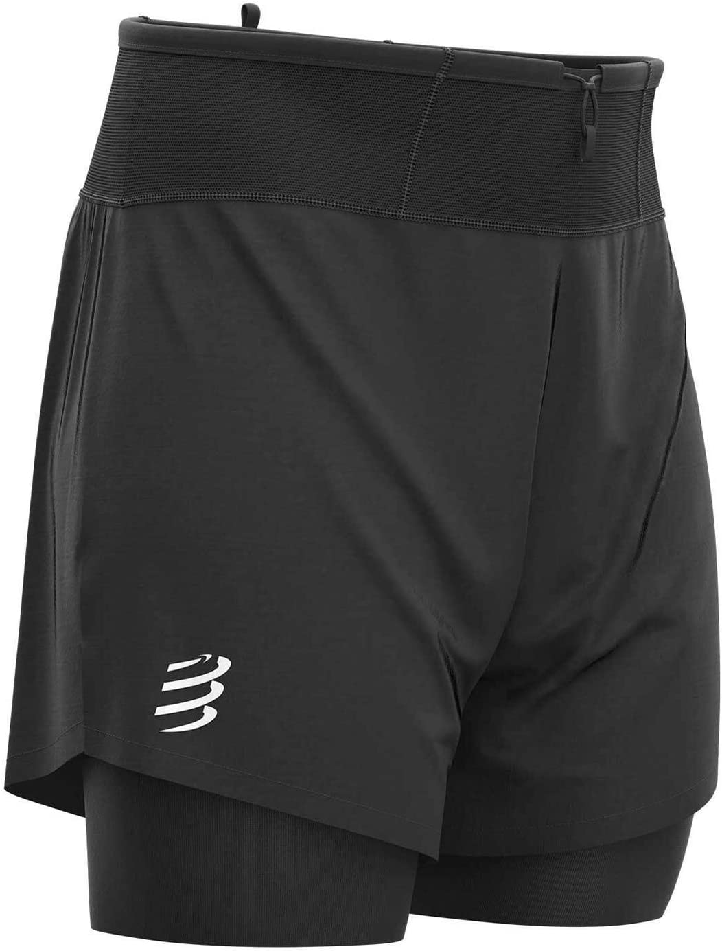 COMPRESSPORT Trail/&Running Pantaloncini 2 in 1