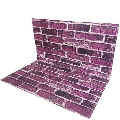 Amazon.com: POPPAP - Paneles de pared 3D de espuma de ...