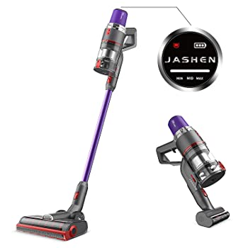 JASHEN V16 Cordless Stick Vacuum for Furniture