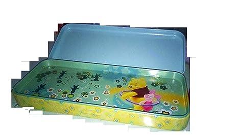 Disney Winnie The Pooh estuche portacolori de lata dos ...