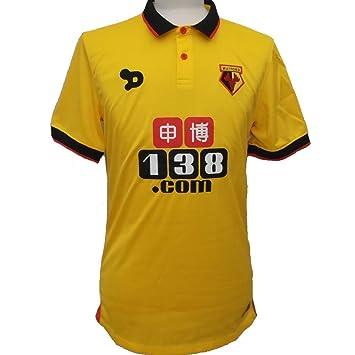 Watford FC Official Home Shirt 2016-2017 (Adult Men s XL)  Amazon.co ... 38c70cc1c