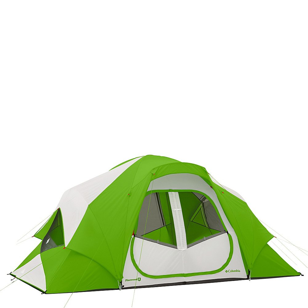 Columbia Sportswear Pinewood 8 Person Dome Tent (Fuse Green) by Columbia   B01E0OSIXM