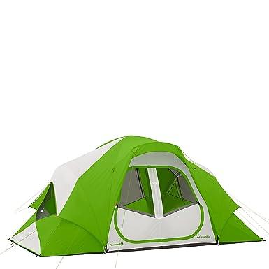 Columbia Sportswear Pinewood 8 Person Dome Tent (Fuse Green)  sc 1 st  Amazon.com & Amazon.com : Columbia Sportswear Pinewood 8 Person Dome Tent (Fuse ...