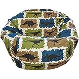 Ahh! Products Dinosaurs Blue Kid Bean Bag Chair