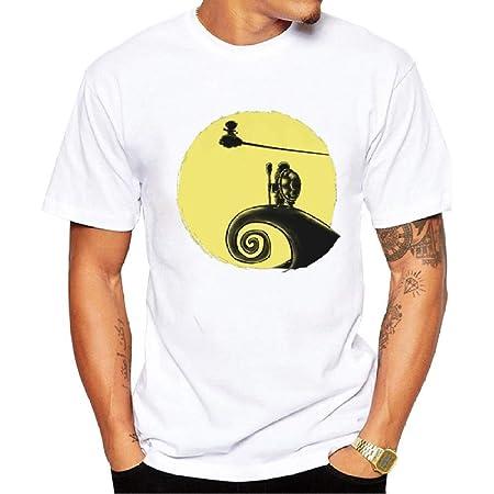 Goodsv - Camiseta de Manga Corta para Hombre, diseño de ...