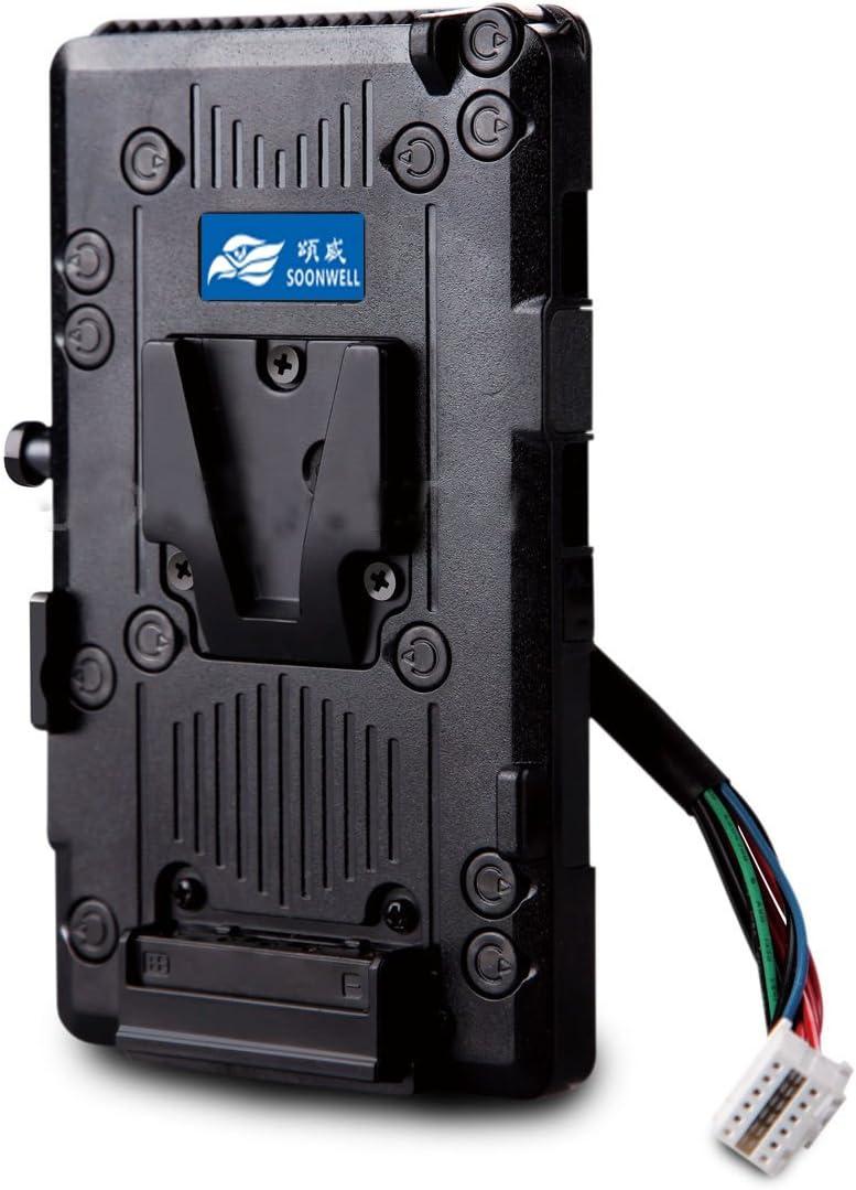Soonwell V Mount Battery Plate Adapter Power Supply For Kamera