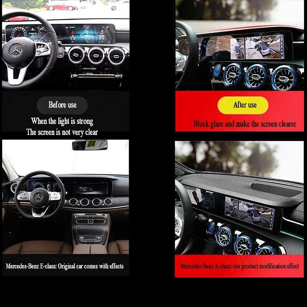 applicabile a Mercedes Benz 2019 Nuova Classe A Classe A200L A220L LAUTO Visiera Parasole per Auto A180L Schermo Parasole Decorazione Cappuccio di Navigazione Decorazione