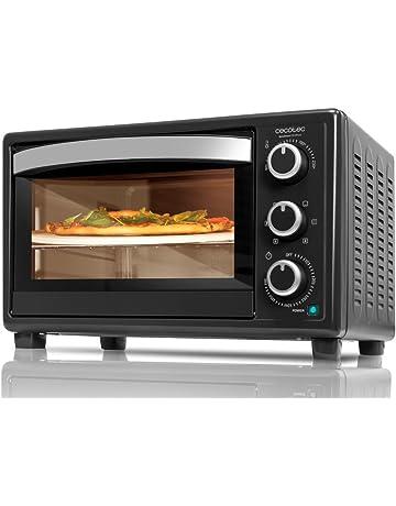 Cecotec Horno Convección de Sobremesa Bake&Toast 570 4Pizza Capacidad de 26 litros. 1500 W.