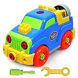 Montare A Smontare Jeep Veicolo Auto Estraibile Giocattoli in Anticipo Educativo Grande Regalo per Ragazzi e Ragazze