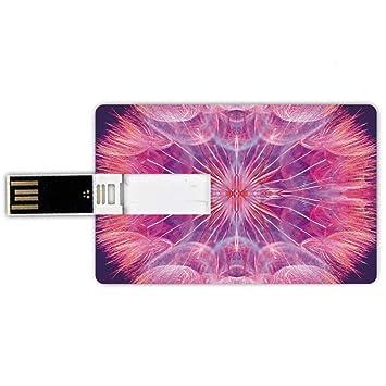 8GB Forma de tarjeta de crédito de unidades flash USB Pastel ...