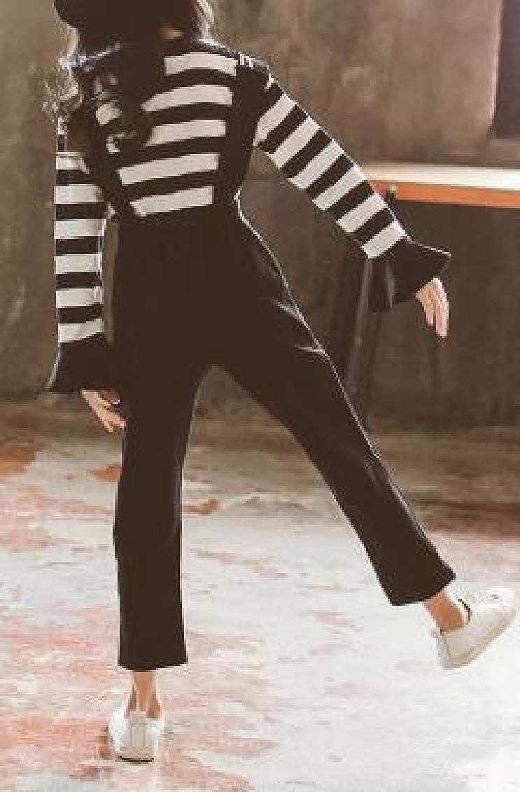 Sweatwater Girls 2PCS Suspender Overalls Stripe Top T-Shirt Pants