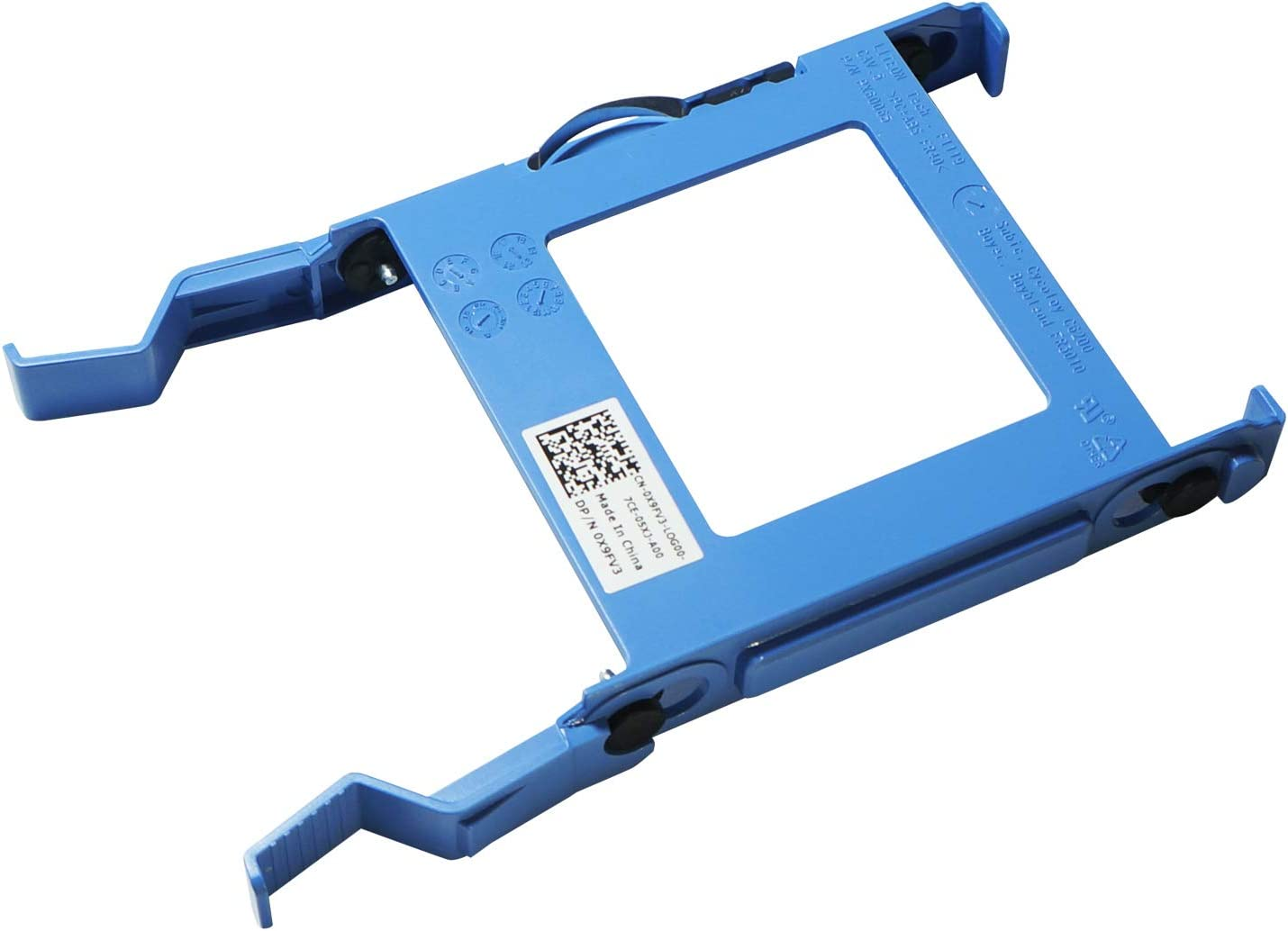 POINWER X9FV3 0X9FV3 Replacement for Dell Hard Drive OptiPlex 3040 5040 7040 MT Inspiron Vostro 3600 3650 Bay Caddy HDD 2.5 SSD Bracket