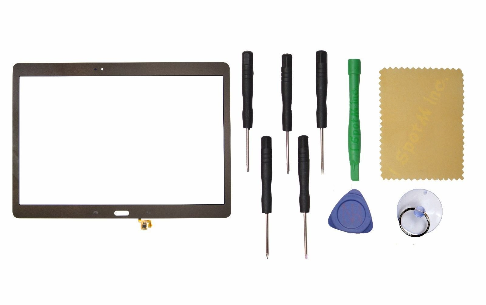 Titanium Bronze Touch Screen Digitizer Replacement for Samsung Galaxy TAB S 10.5'' SM-T800 T805 by I Spot M Inc