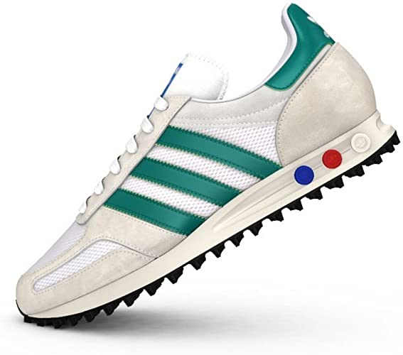 adidas la white trainers