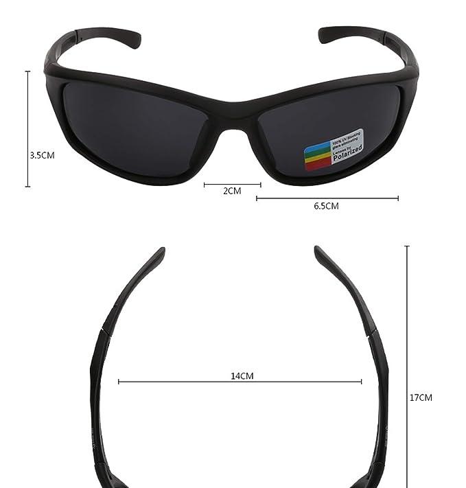 AnazoZ Gafas Polarizadas Gafas Deportivas Gafas de Montar ...