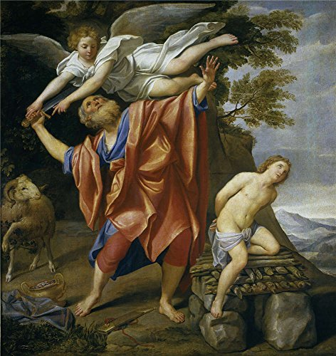 'Domenichino El Sacrificio De Isaac 1627 28 ' Oil Painting, 8 X 8 Inch / 20 X 22 Cm ,printed On Perfect Effect Canvas ,this Replica Art DecorativeCanvas Prints Is Perfectly Suitalbe For Basement Decoration And Home Gallery Art And Gifts (22 Tru Oil)