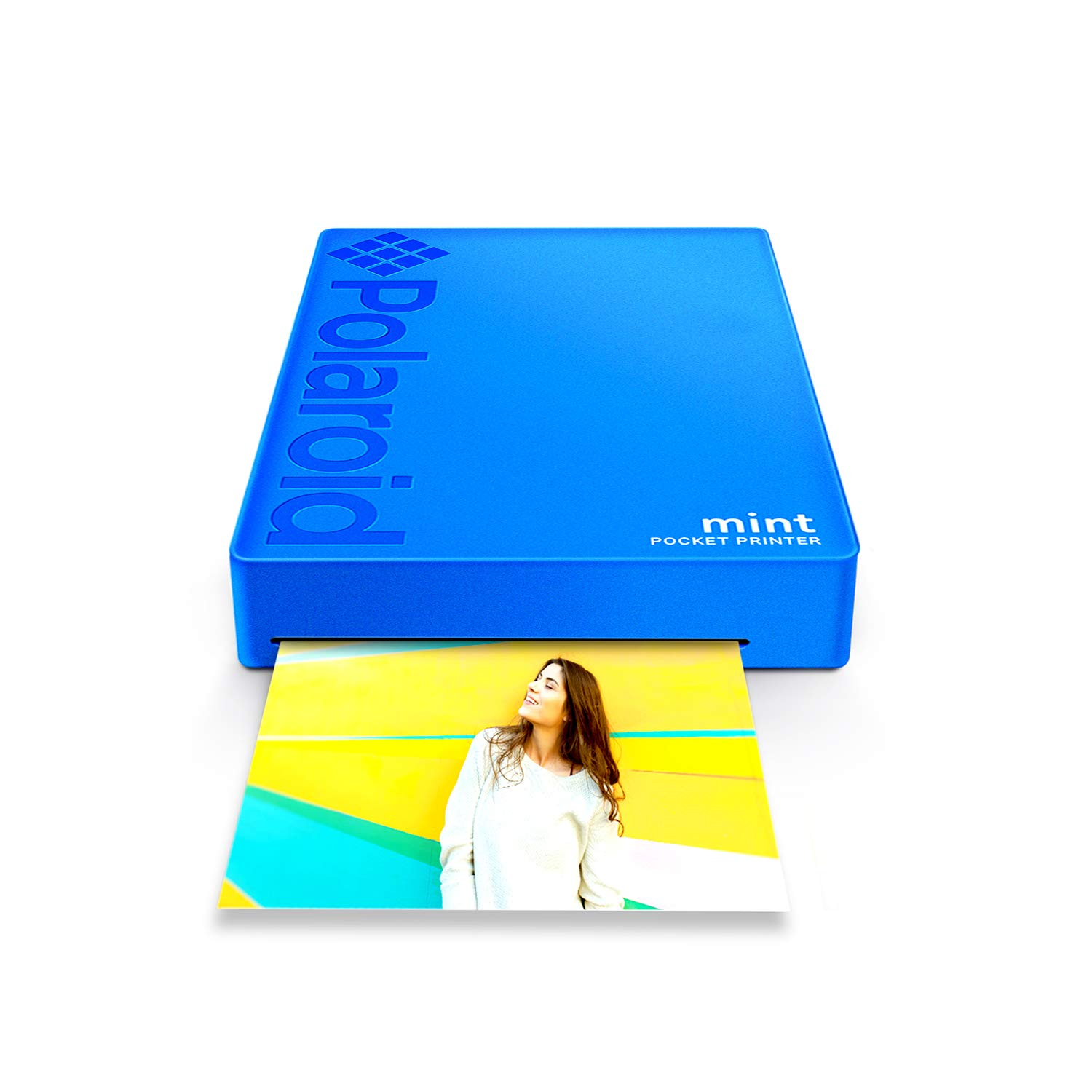 Polaroid Mint Wireless Mobile Photo Mini Printer (Blue) Compatible w/iOS & Android, Bluetooth Devices by Polaroid