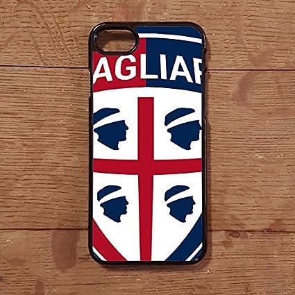 Lovelytiles Cagliari Cover Calcio Serie A iPhone Apple Smartphone (iPhone 7)