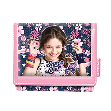 Karactermania Soy Luna Superlike Monedero, 12 cm, Rosa