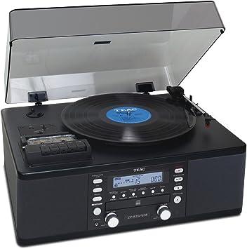 Amazon.com: Teac LP R550USB grabadora de CD con reproductor ...