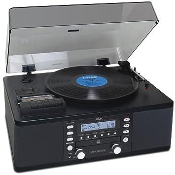 Teac CD-Radiosystem LP-R 550 USB B schwarz: Amazon.es ...