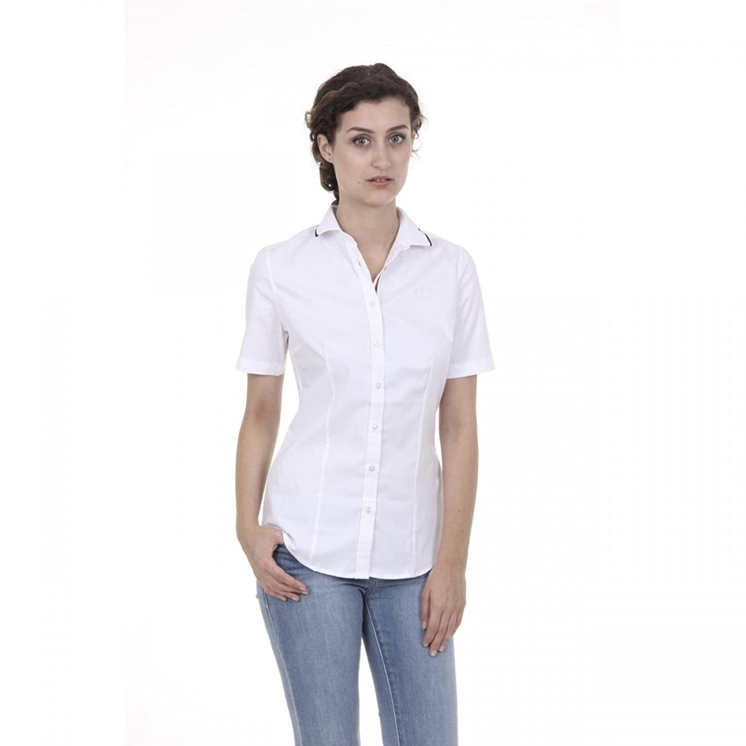 Fred Perry Fred Perry Womens Shirt 31202391 9100 BIANCO