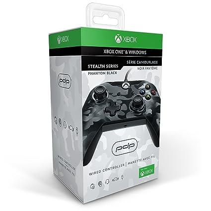 Manette Filaire Pour Xbox One/S/X/PC - Camo Noir: Amazon.fr: Jeux ...
