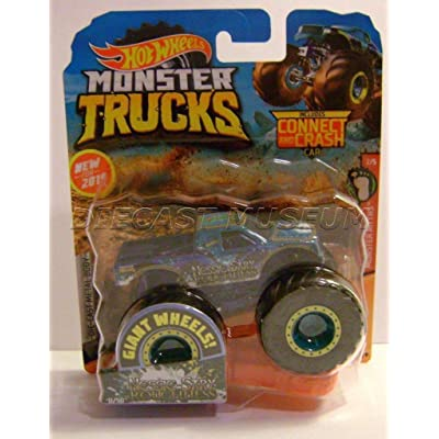 Nessie SARY Roughness W/ Connect Crash CAR Monster Trucks HOT Wheels 2020: Toys & Games