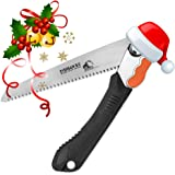 """FLASH SALE!! EverSaw FOLDING HAND SAW All Purpose, Wood, Bone, PVC. Best for Tree Pruning, Camping, Hunting, Toolbox. Rugged 8"""" Blade, Solid Grip - Quality Made for Real Work"""