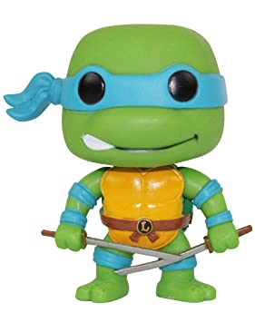Funko Pop! Teenage Mutant Ninja Turtles Leonardo Vinilo ...