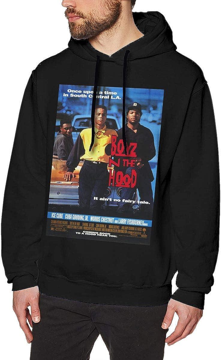 Pekivide Men Ice Cube Restoring Ancient Ways Black Hoodie Sweatshirt Jacket Pullover Tops