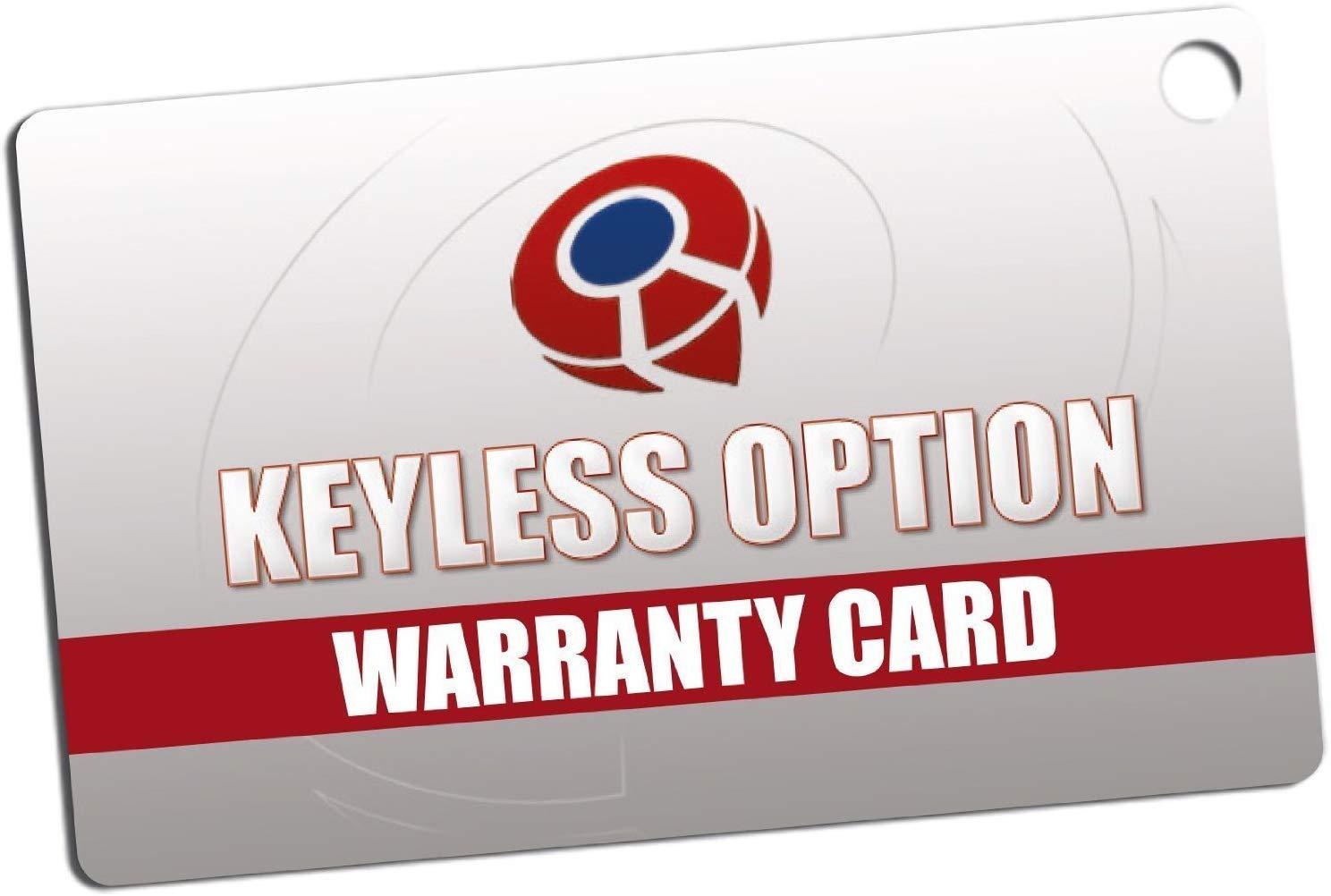KeylessOption Keyless Entry Remote Start Smart Car Prox Key Fob W//Key for GMC Terrain 2018-20 HYQ1AA