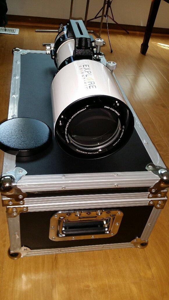 Amazon.com: Explorar Científico 102 mm f/7 Classic Color ...