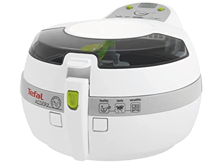 Tefal FZ 7060 Solo Low fat fryer 1400W Plata, Color blanco - Freidora (Low fat fryer, 1 kg, ActiFry, Solo, Plata, Blanco, 1400 W): Amazon.es: Hogar
