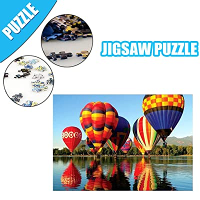 Pikolai Large 1000-Piece Jigsaw Puzzles 30 x 20inch, Landscape Puzzles for Adults and Teenagers, Mini Size Puzzle Games: Toys & Games
