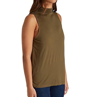 94a19a6071386 Clothing Splendid Womens 1x1 Mock Tank