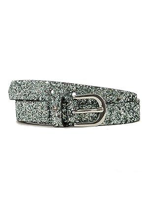 many fashionable look for affordable price Le Temps des Cerises ceinture paillette vert: Amazon.fr ...