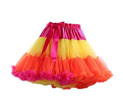 Faldas Mujer Falda Corta Cintura Alta Bowknot Empalme De Tres ...