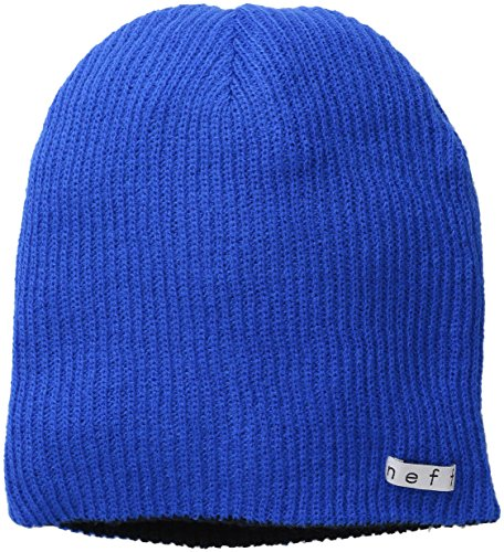 NEFF Men's Daily Reversible Beanie, Blue/Black, One Size