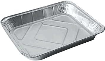Grande desechables papel de aluminio para horno/bandeja para horno/bandeja (mitad Gastronorm